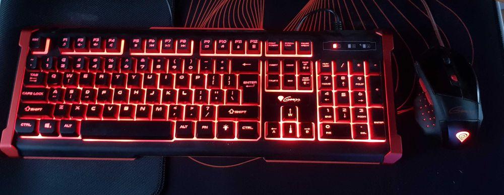 Zestaw gamingowy Genesis klawiatura Rhod410 + Myszka GX57 Rudnik nad Sanem - image 1