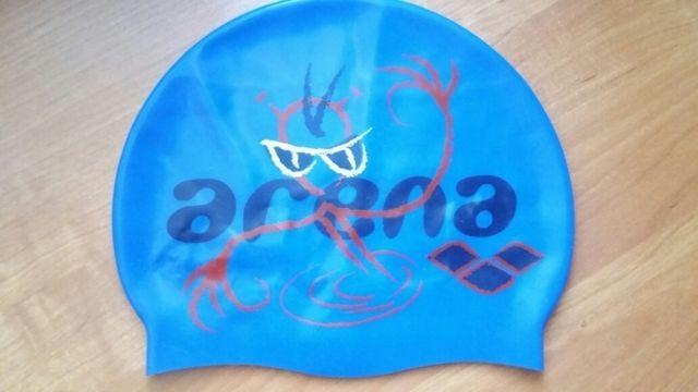Шапочка резиновая ARENA для бассейна
