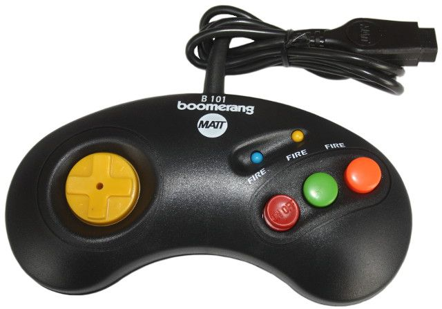 Joystick Joypad Dżojstik BOOMERANG B101P Amiga Atari Commodore OKAZJA