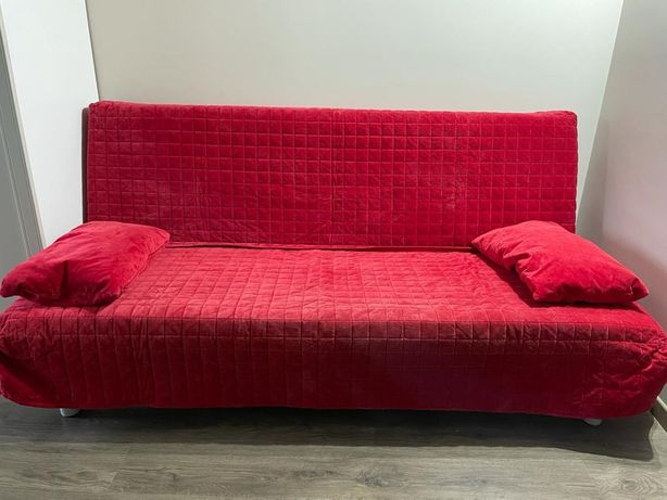 Sofa składana Ikea 200×140 z materacem za darmo.