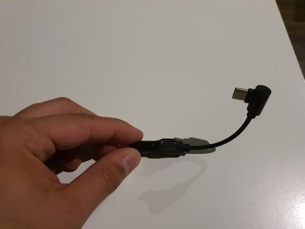 Adapter słuchawkowy usb c do Xiaomi i Huawei