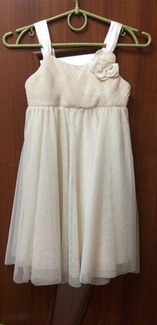 Нарядное платье H&M (116-122)