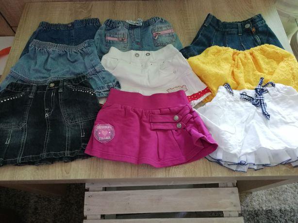 Ubranka dla dziewczynki rozmiar 80-86