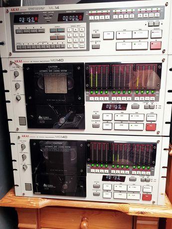 AKAI MG14D 2 szt. + ML14 + 18 kaset
