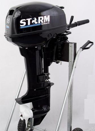 Silnik Zaburtowy STORM 18km NOWY (Yamaha) FV HIT Ponton Łódka