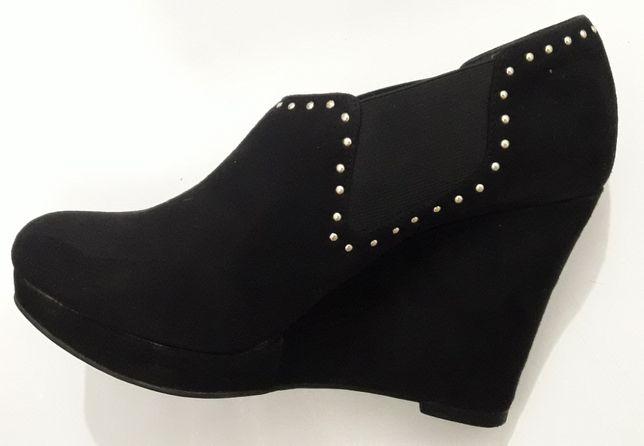 жіночі туфлі замша,закриті -ВЕСНА-NEW LOOK 38р.