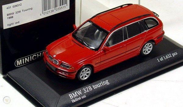 BMW 328 Touring Minichamps 1.43