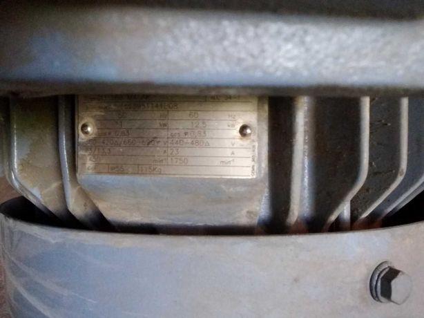 Электродвигатель АВВ немецкий, 11 кВт, 1500об, сост.нового17999