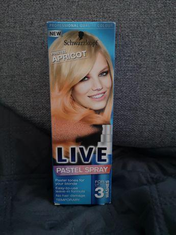 Schwarzkopf Live Pastel Spray Apricot