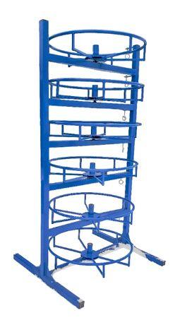 Stojak Regał 6 półkowy na węże hydrauliczne - DS System