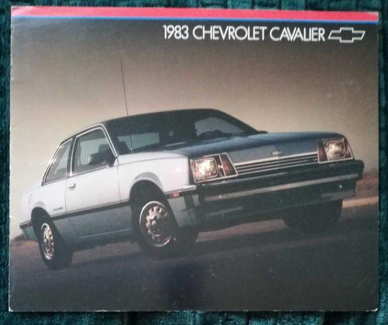 Prospekt Chevrolet Cavalier 1983
