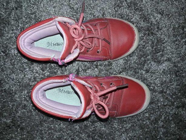 Кожанные ботиночки для девочки