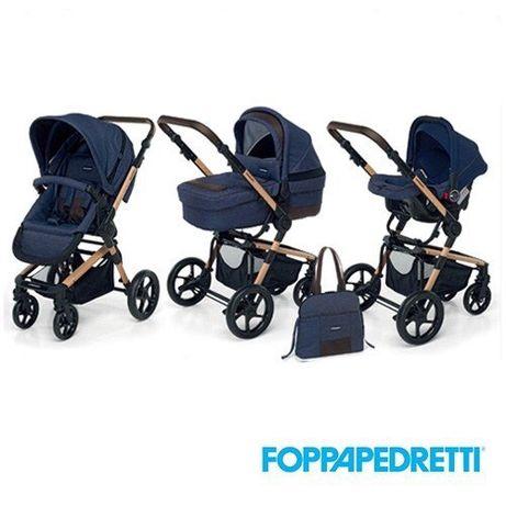 Коляска Foppapedretti iwood 3 в 1