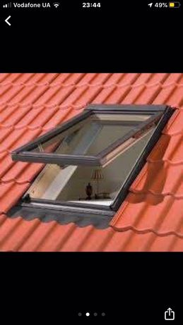 Мансардні вікна, вікно на дах, вилази на дах, окна в кришу