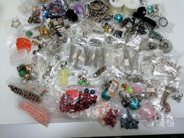 Material para fazer fazer bijutaria tudo novo