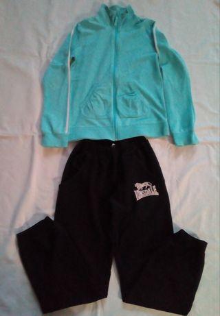 Спортивный костюм штаны и кофта девочке 134 140 146 152