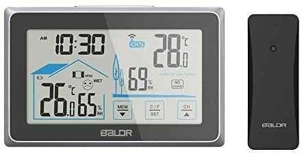 Метеостанція\Бездротовий термометр і гігрометр Baldr