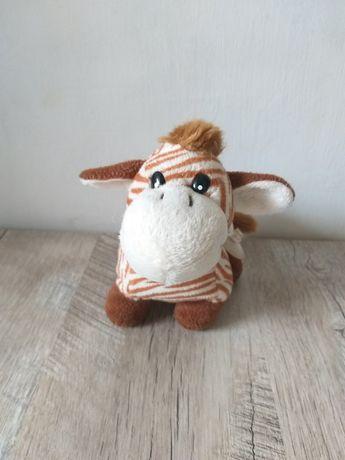 Игрушка зебра на присоске