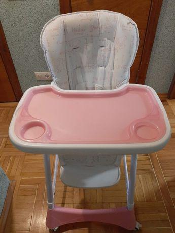 Стульчик для кормления Mioobaby Pink (ТОРГ)