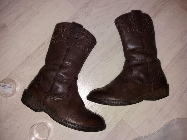 Сапоги кожаные 16.5 см