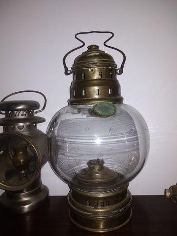 Lampa naftowa żeglarska jachtowa i inne