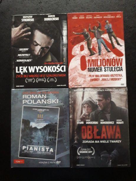 Filmy polskie dvd wydania książkowe obława, 80 milionów