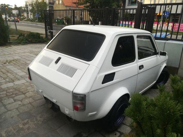 Fiat 126p folia do przyciemniania szyb