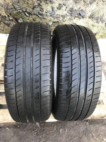 Michelin 215/50r17 2 шт лето резина шины б/у склад