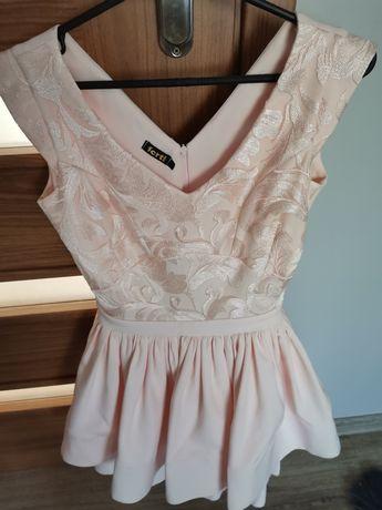 Sukienka na wesele XS 34 piękna dwie warstwy