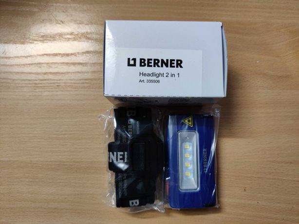 Lampa/latarka czołowa/czołówka BERNER 335506