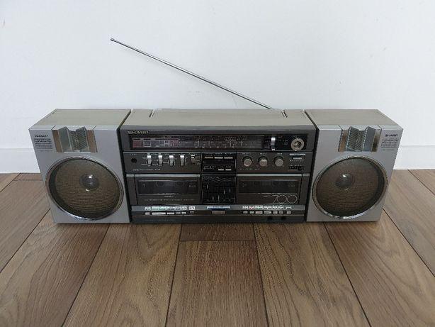SHARP GF-700H Radiomagnetofon BOOMBOX - OKAZJA !