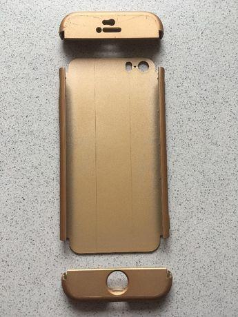 Capa p/ Iphone SE DOURADA