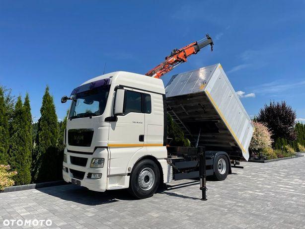 MAN TGX 18.440 E5 HDS + PILOT+ WYWROTKA  MANUAL TEREX 105.2 Kiper Aluminiowy 15 m3