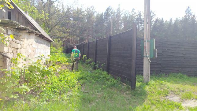 Продам земельный участок со старым домом с. Плесецкое