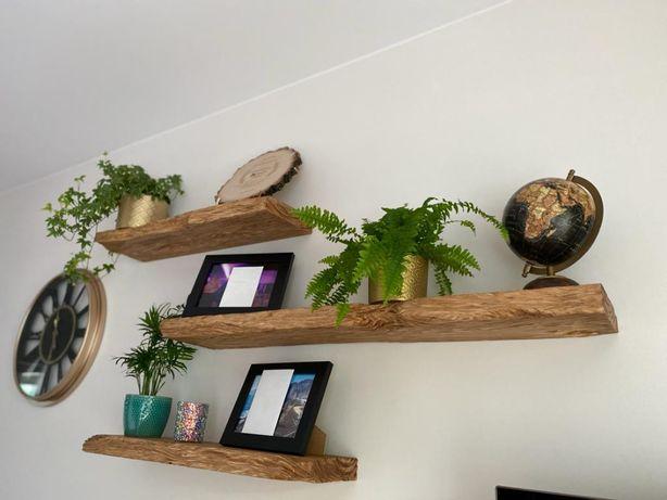 #Półka ścienna rustykalna #półki #deska na wannę #aranżacje