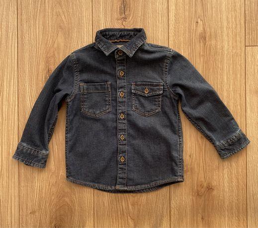 Next koszula jeansowa na chlopca 1,5-2 lata