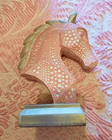 Peça Decoração Cabeça de Cavalo (Nova)