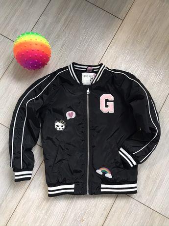 Куртка бомбер на девочку