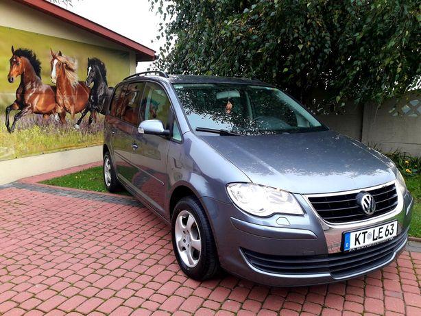 Volkswagen Turan 2.0 benzyna  GAZ Nowy  Klima Z Niemiec Ładny