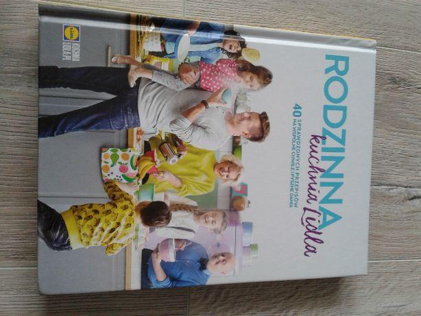 Książka Rodzinna kuchnia Lidla 40 przepisów książka kucharska