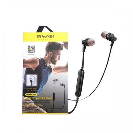 Нові безпровідні Bluetooth наушніки Awei B990BL колір чорний ціна 430