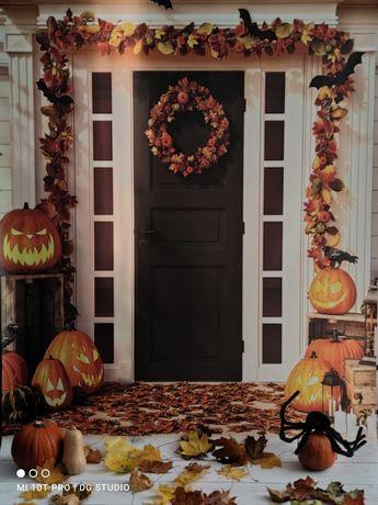 Tło fotograficzne Halloween
