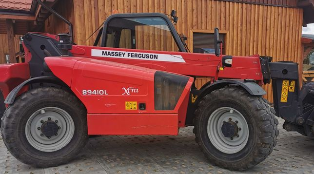 Ładowarka Massey Ferguson (jak JCB 535-95) łyżka klima 13r opony 80%