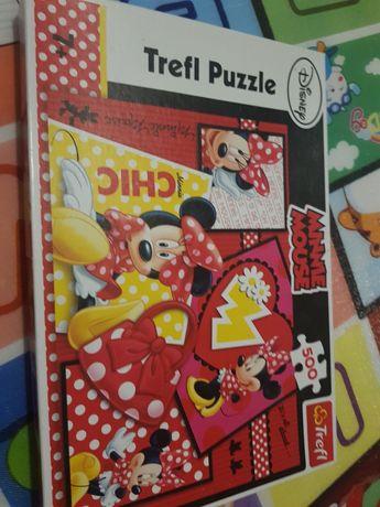 Puzzle minnie disney 500