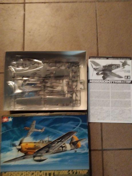 Model do sklejania: Tamiya 61063 Messerschmitt Bf109E-4/7 Trop 1:48
