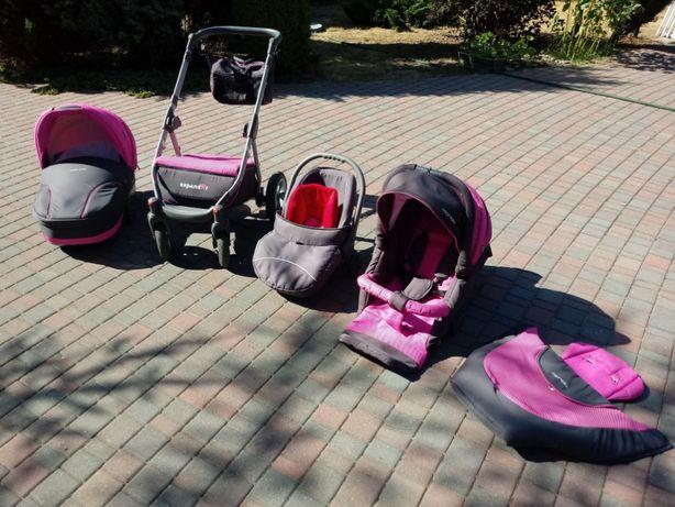Wózek dziecięcy MONDO - Mercedes wśród wózków - 8 w jednym !!!