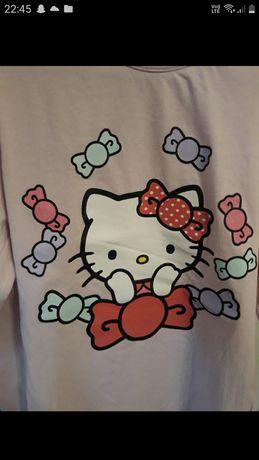 Bluzeczka hello kitty stan idealny z długim rękawem