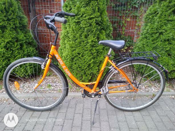 Rower damski/miejski, 3 biegowy, koła 28 cali