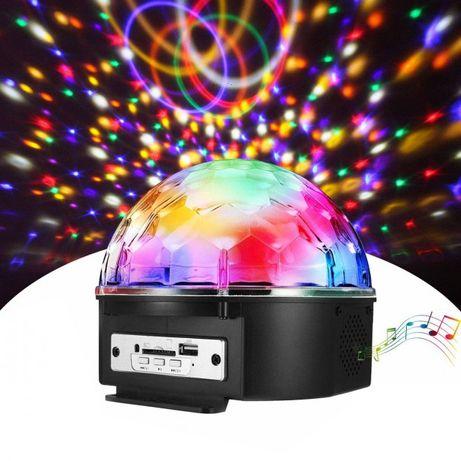 Светодиодный диско-шар Disco Ball с динамиком пультом и флешкой