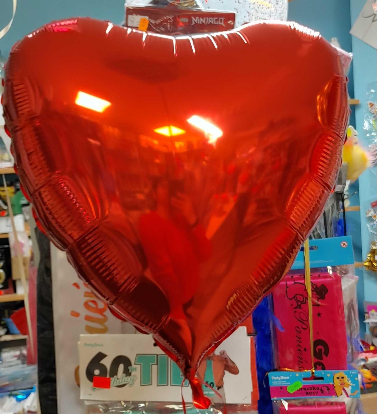 Balony serduszka i nie tylko..